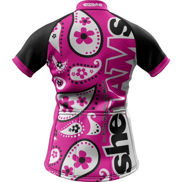 SheJAMs + Womens REC Cycling Jersey