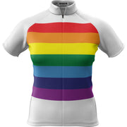 Unity Rainbow + Womens Short Sleeve REC Cycling Jersey