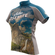 Yosemite National Park + Womens Short Sleeve REC Cycling Jersey
