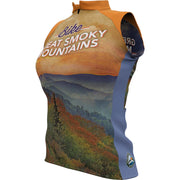 Great Smoky Mountain National Park + Womens Sleeveless REC Cycling Jersey