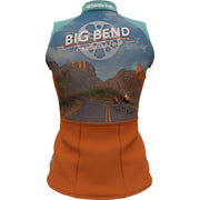 Big Bend National Park + Womens Sleeveless REC Cycling Jersey