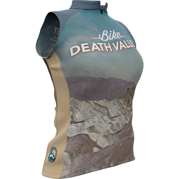 Death Valley National Park + Womens Sleeveless REC Cycling Jersey