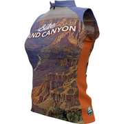 Grand Canyon National Park + Womens Sleeveless REC Cycling Jersey