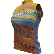 Shenandoah National Park + Womens Sleeveless REC Cycling Jersey