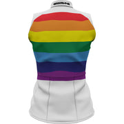 Unity Rainbow + Womens Sleeveless REC Cycling Jersey