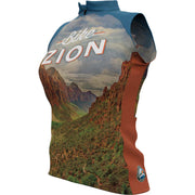 Zion National Park + Womens Sleeveless REC Cycling Jersey