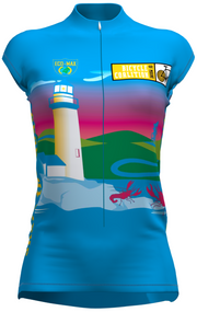 Bicycle Coalition of Maine Women's Sleeveless Old Lighthouse Jersey