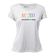 I Run Straight But Not Narrow v1 + Womens Short Sleeve REC T