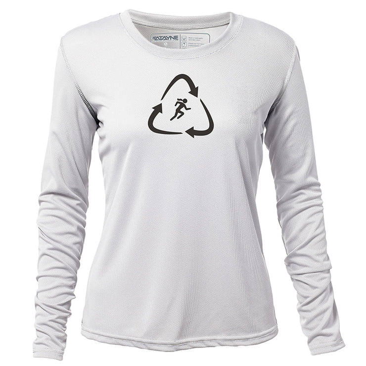 Recycled Runner + Womens Long Sleeve REC T