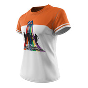 I Run Straight But Not Narrow + Womens Short Sleeve REC T Elite