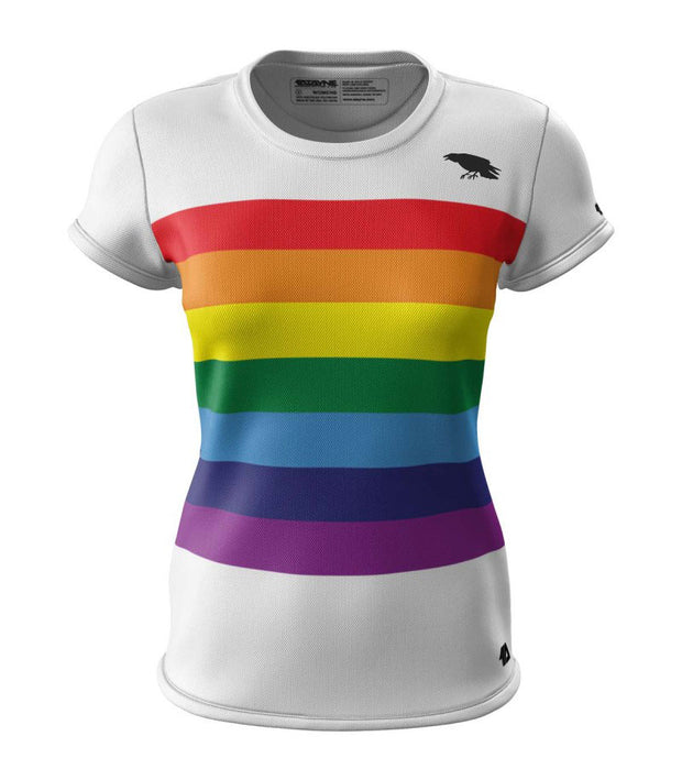 Unity Rainbow + Womens Short Sleeve REC T Elite