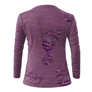 Run Hard Tread Lightly + Womens Long Sleeve REC T Elite