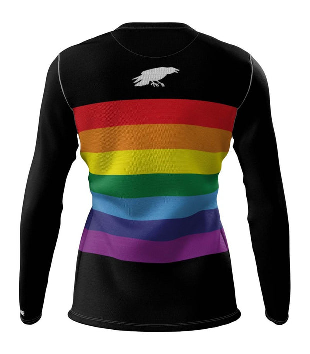 Unity Rainbow + Womens Long Sleeve REC T Elite