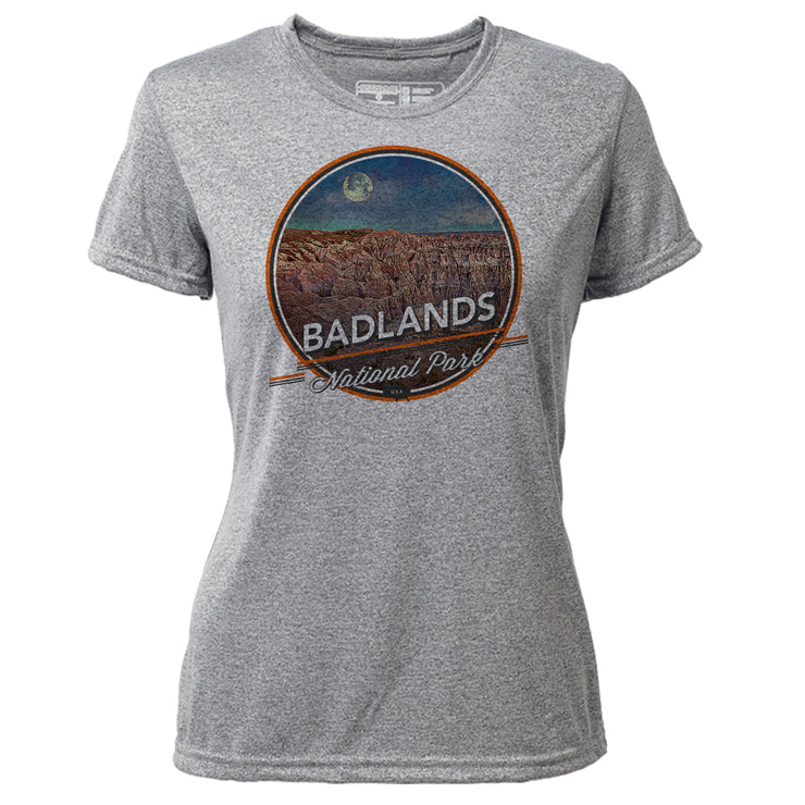 Badlands + Womens SS Hybrid T