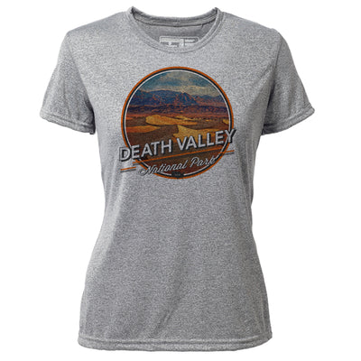 Death Valley + Womens SS Hybrid T