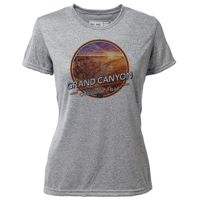 Grand Canyon + Womens SS Hybrid T
