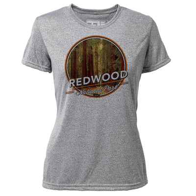 Redwood + Womens SS Hybrid T