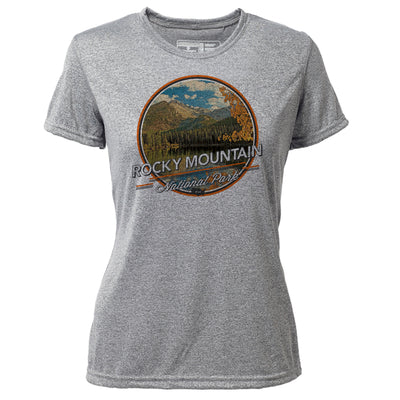 Rocky Mountain + Womens SS Hybrid T