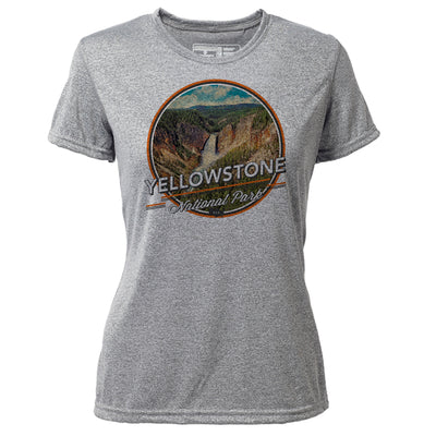 Yellowstone + Womens SS Hybrid T