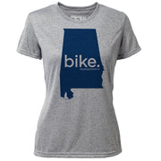 bike. Alabama + Womens SS Hybrid T
