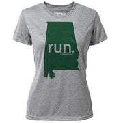 run. Alabama + Womens SS Hybrid T