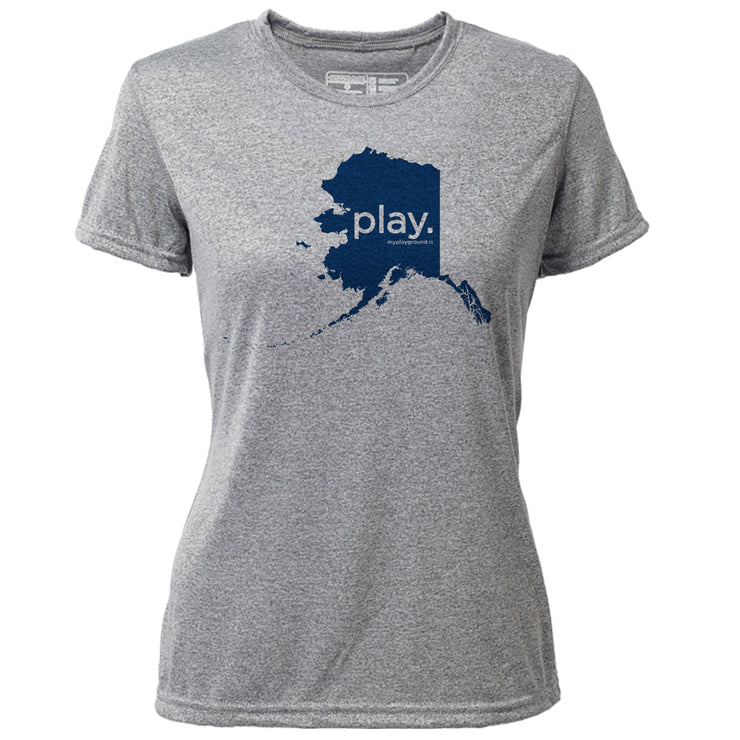 play. Alaska + Womens SS Hybrid T
