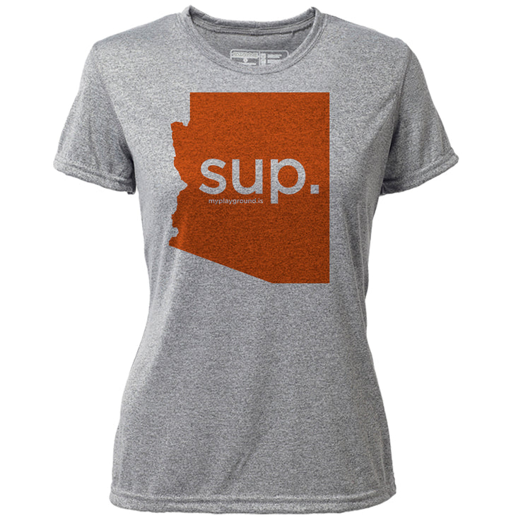 SUP. Arizona + Womens SS Hybrid T