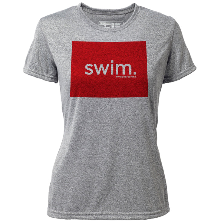 swim. Colorado + Womens SS Hybrid T