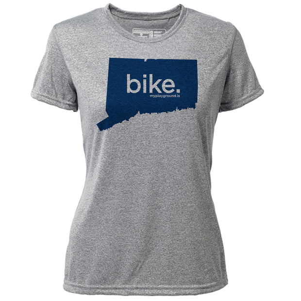 bike. Connecticut + Womens SS Hybrid T
