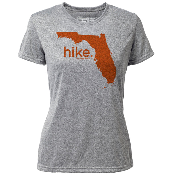 hike. Florida + Womens SS Hybrid T