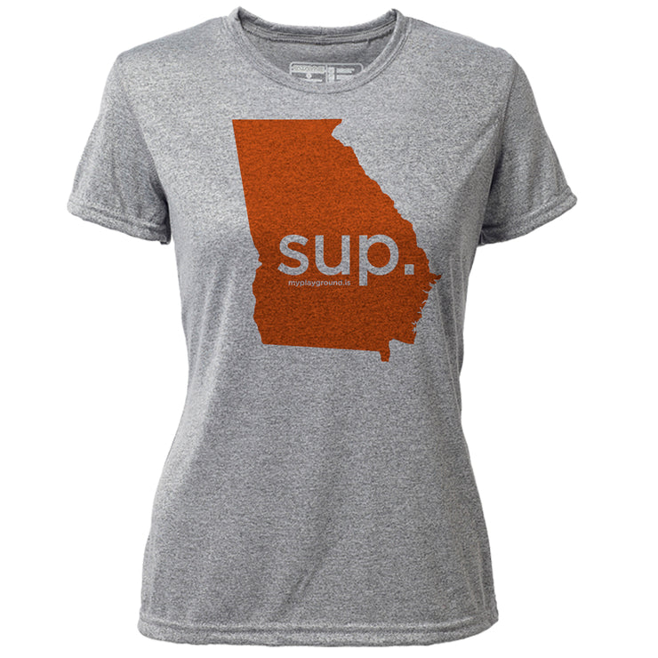 SUP. Georgia + Womens SS Hybrid T