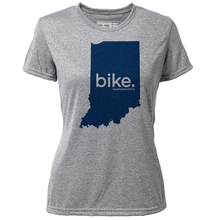 bike. Indiana + Womens SS Hybrid T