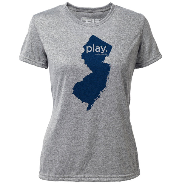 play. New Jersey + Womens SS Hybrid T