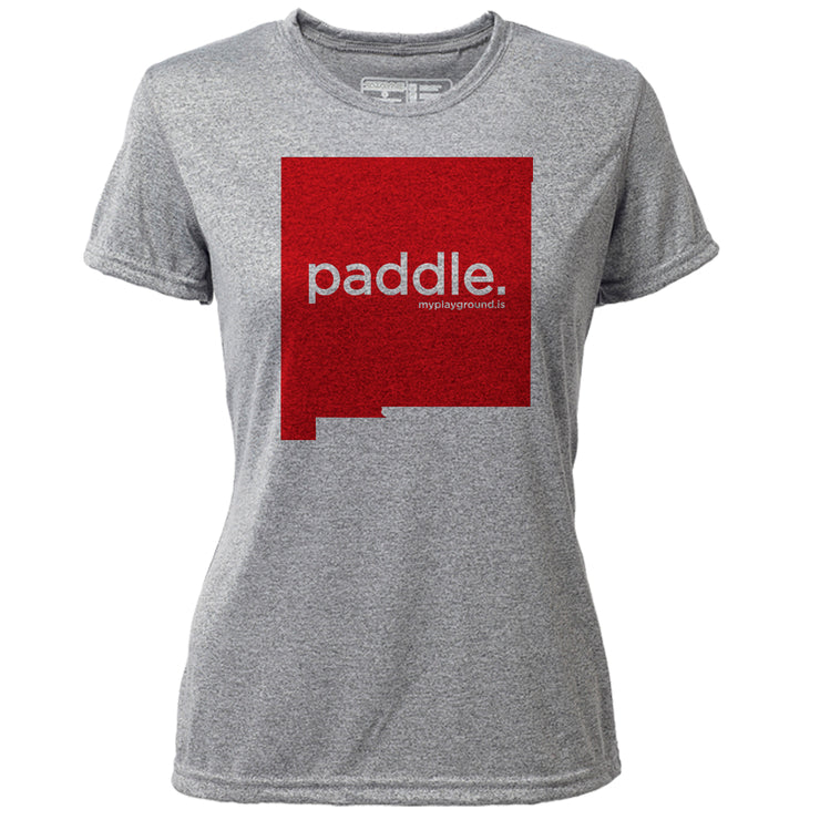 paddle. New Mexico + Womens SS Hybrid T