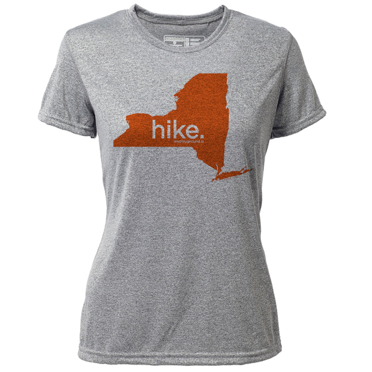 hike. New York + Womens SS Hybrid T