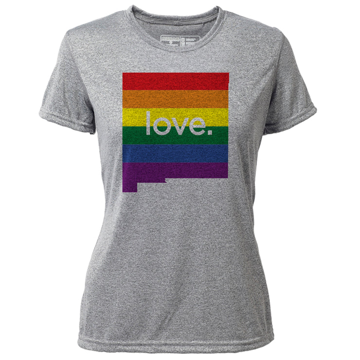 love. New Mexico + Womens SS Hybrid T