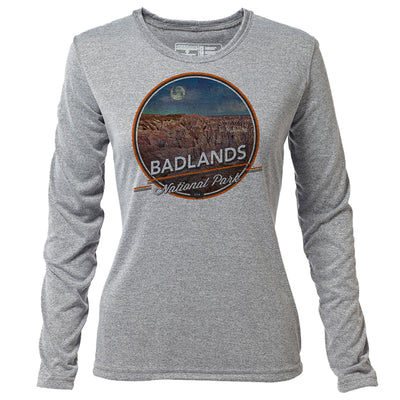 Badlands + Womens LS Hybrid T