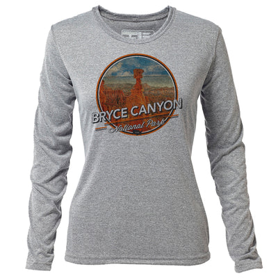 Bryce Canyon + Womens LS Hybrid T