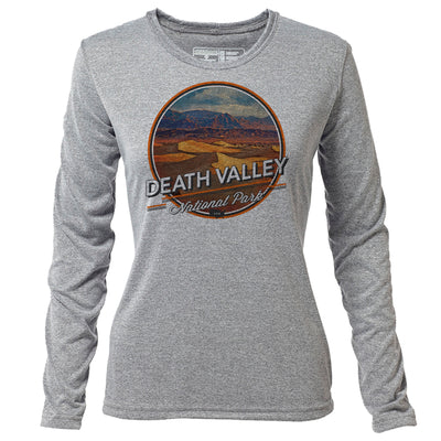 Death Valley + Womens LS Hybrid T