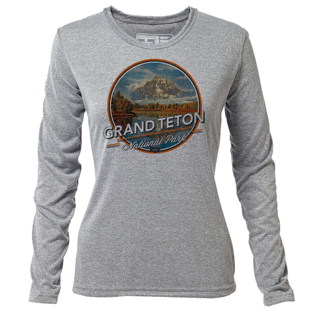 Grand Teton + Womens LS Hybrid T