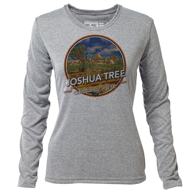 Joshua Tree + Womens LS Hybrid T