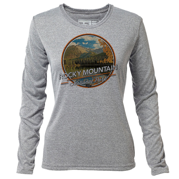 Rocky Mountain + Womens LS Hybrid T