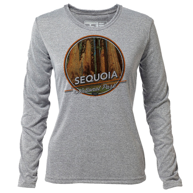 Sequoia + Womens LS Hybrid T