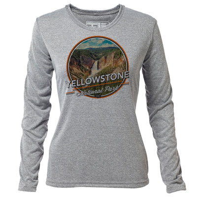 Yellowstone + Womens LS Hybrid T