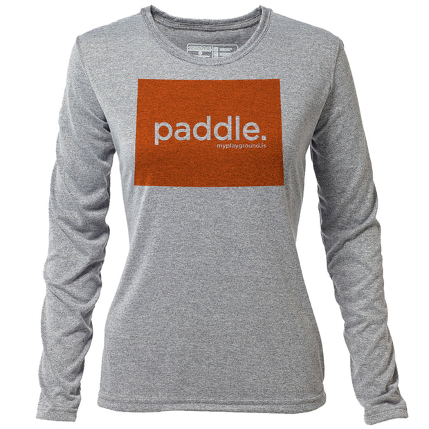 paddle. Colorado + Womens LS Hybrid T