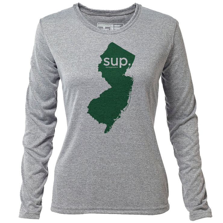 SUP. New Jersey + Womens LS Hybrid T