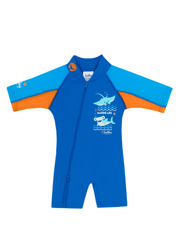 babies swimwear, one piece swimsuit, UV protection,