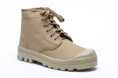 IDF Scout Commando canvas TAN Boots