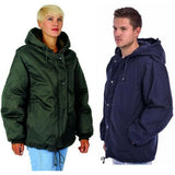 man's woman's working jacket / IDF Military Army Winter Parka Jacket Coat Hooded