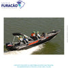 BARCO DE ALUMÍNIO METALGLASS QUEST 195 DOUBLE FISHING